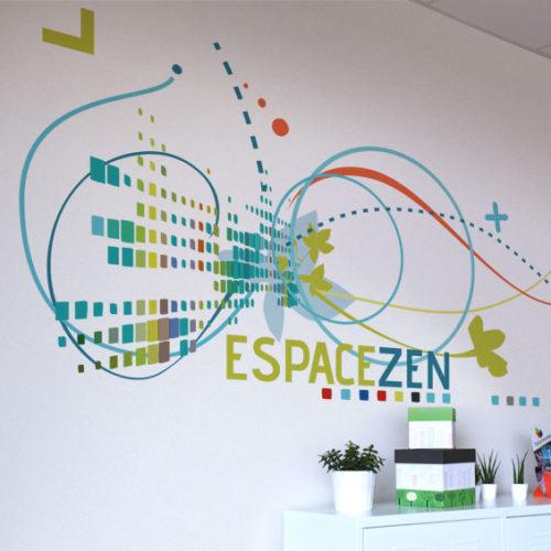 Décor mural Espace Zen FCBA à Champs sur Marne