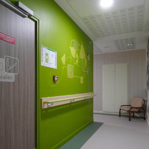 AFEJI, Signalétique et décors muraux pour le foyer de vie les Bazennes à Dunkerque