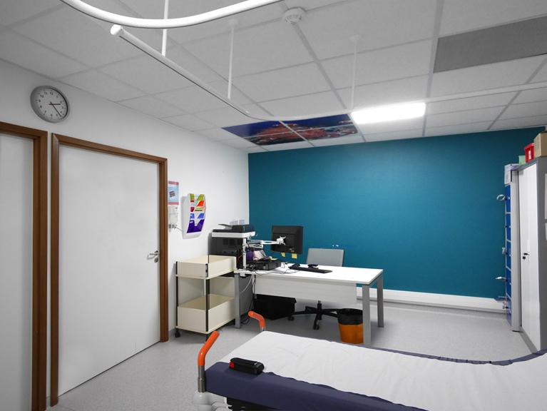 Décor Mural et Signalétique pour le service de cardiolopathie congénital de l